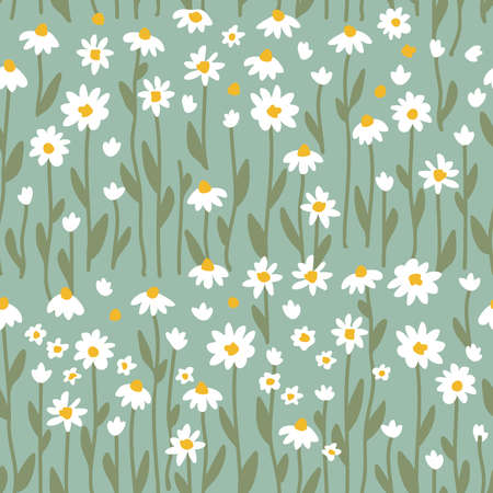 Retro textile collection. Template for dresses, scarves and other textile designs.