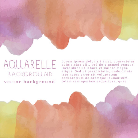 illustration of watercolor background Ilustrace