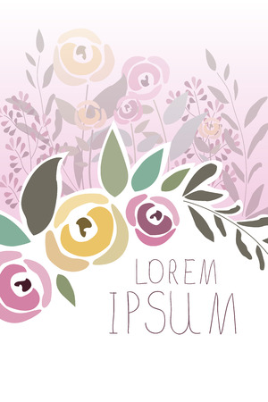 signature: illustration of floral template with signature