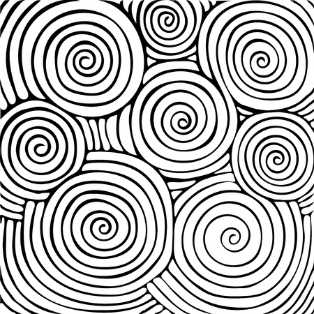 tangle: Abstract background with doodle style, zen tangle for you design or adult coloring book