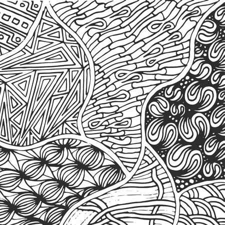 Sketchy Vector Hand Drawn Doodles Zen Tangle Zen Art Patterns Custom Zen Patterns