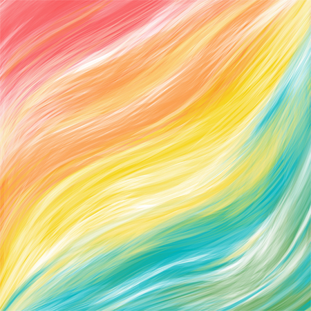Color brushstroke oil or acrylic paint design element for presentations, flyers, leaflets, postcards and posters. Abstaract background. Vector illustration EPS10