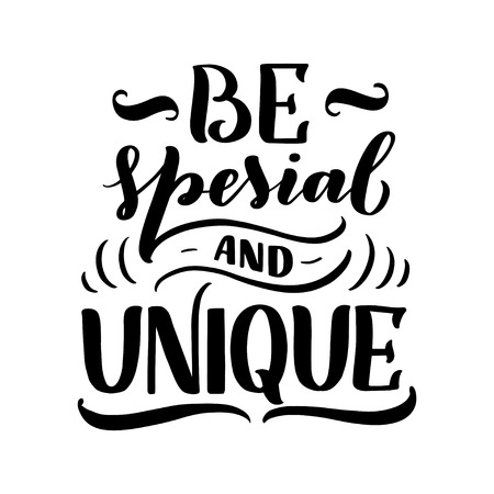 Lettering composition for posters. Motivational quote about gadgets and technology. Hand drawn Monochrome vector illustration.