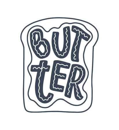 Citazione scritta, ottimo design per qualsiasi scopo. Illustrazione di slogan di vettore. Colazione gustosa. Cibo dietetico. Pascolo, alimentazione sana. Vettoriali