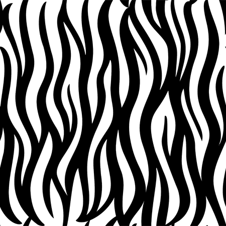 Abstract animal pattern seamless for textile design. Cute geometric background. Hand drawn texture. illustration