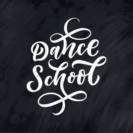 Hand drawn phrase about dance for print  and poster design. Lettering quote and creative concept. Vector