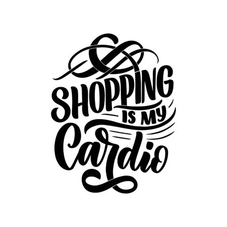 Eco bag print for cloth design. Retail advertising. Lettering quote for environment concept. Organic design template. Typography illustration.