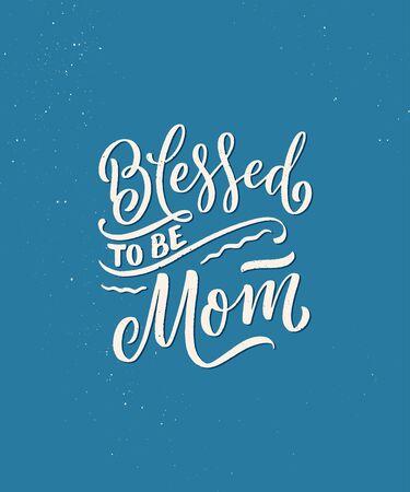 Hand drawn lettering pregnancy quote. Maternity slogan inscription. Motherhood poster, banner, t shirt typography design. Vector illustration