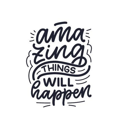 Funny hand drawn lettering quote. Cool phrase for print and poster design. Inspirational feminism slogan. Greeting card template. Vector illustration