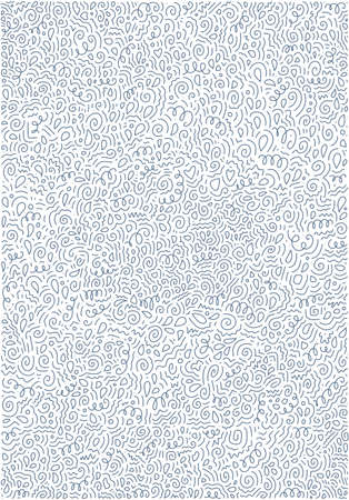 Abstract background with hand drawn doodle elements. Funny wallpaper for blog, poster and print design. Scattered Geometric Line Shapes. Vector