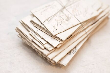 old letters: Old letters