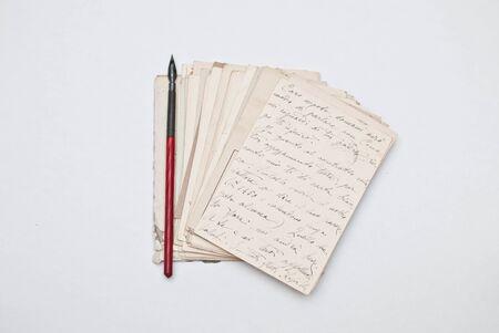 cartas antiguas: Viejas cartas