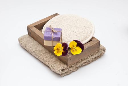 sopa: Sopa, sponge and towel