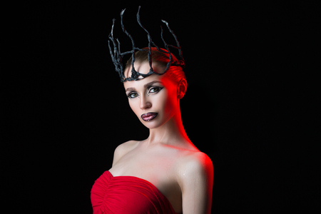 severity: chilling Queen in the black crown