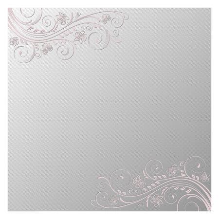 blumen verzierung: Quadratischen Hintergrund mit dekorativen floralen Ornament.