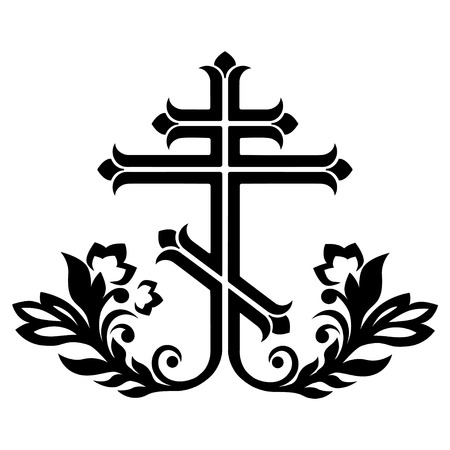 ornamental orthodox cross