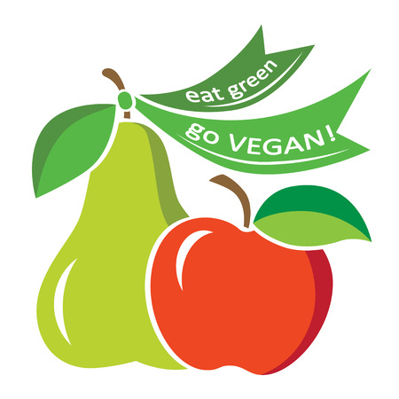 fruit and vegetable: Image for vegan events, World Vegan Day.