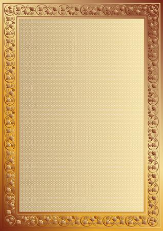 tangier: Decorative frame.