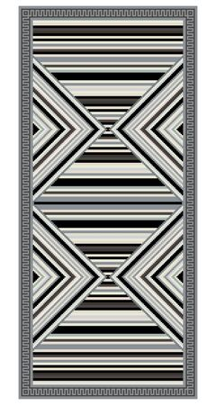 rug texture: Colorful geometric pattern, blanket, banner, decoration with stripes. American Indians style. Desaturated colors.