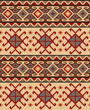 Seamless ethic Georgian pattern for background, textile.