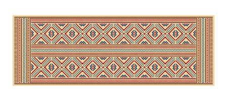 American Indians tribal blanket pattern. Navajo ethnic style.
