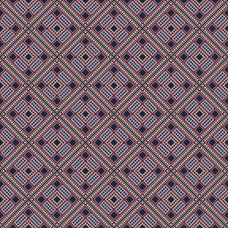 Seamless geometric pattern. Traditional African ethnic style.