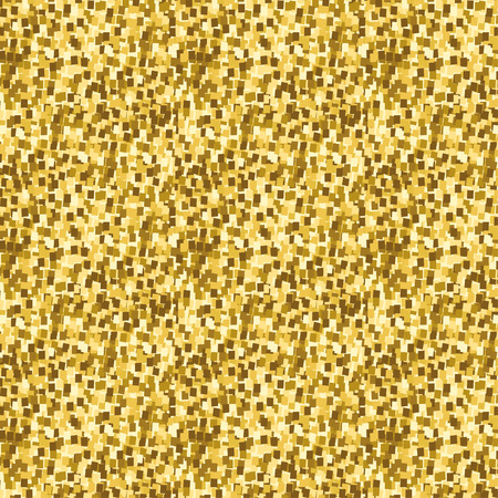Abstract seamless pattern with golden glitter. Illustration
