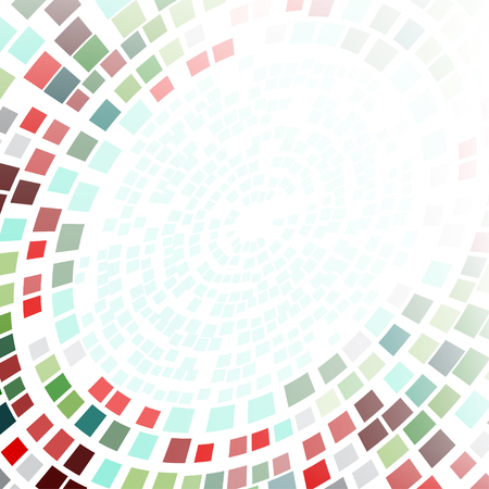 Abstract background formed of concentric circles. Banner, cover or template for leaflet, slideshow backdrop.