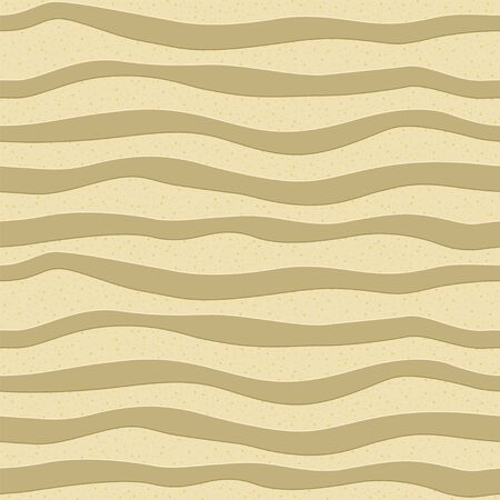 Seamless pattern with sandy wavy stripes and glitters.