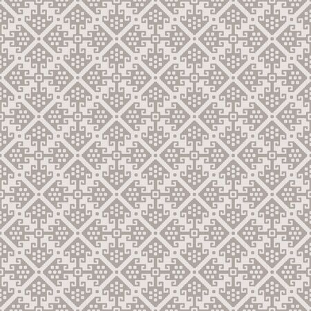 Seamless pattern, light colors. American Indians ethnic style. Appropriate for textile, packing materials, website background. Swatches are included in EPS file.