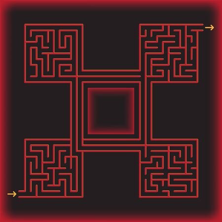 Maze game for kids and adults.