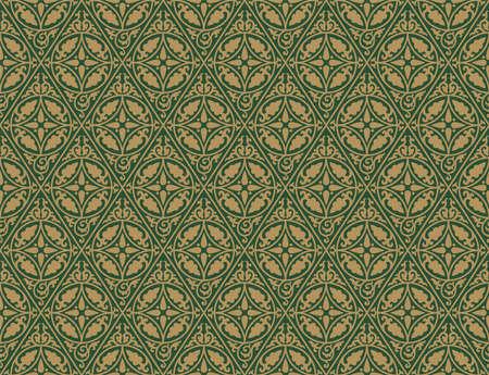 Ethnic geometric seamless pattern. Antique Byzantine style.