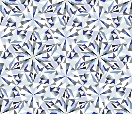 Diamond background  Seamless brilliant pattern  Vector