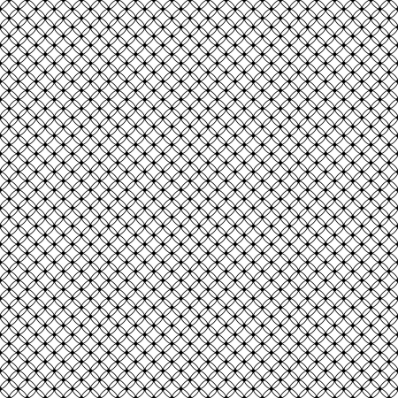 lace dotted veil seamless pattern on net background Vector
