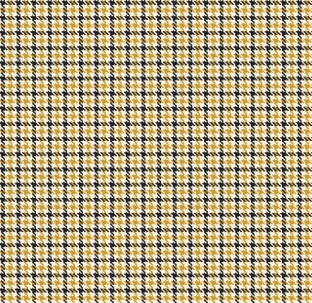 houndstooth seamless pattern  checker abric background Illustration
