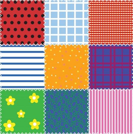 patchwork: seamless patchwork background