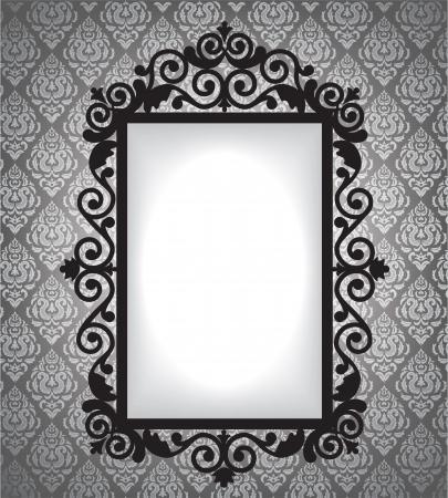 mirror frame: Antique frame