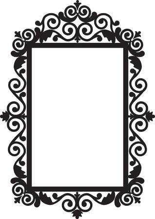 spiegelbeeld: Antieke frame