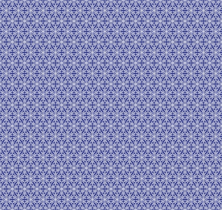 Christmas blue background with snowflakes  Seamless lace pattern Stock Vector - 15931250