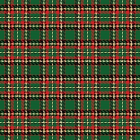 checks fabric  tartan  Seamless background Illustration