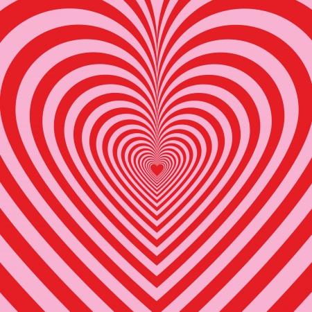 saint valentin coeur: Stripped background avec des coeurs