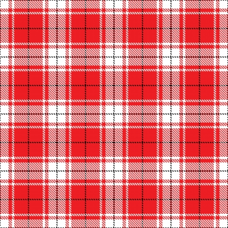 irish christmas: checks fabric  tartan  Seamless background Illustration