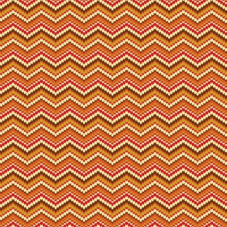 spokes: Seamless zig zag striped background with spokes knitted pattern