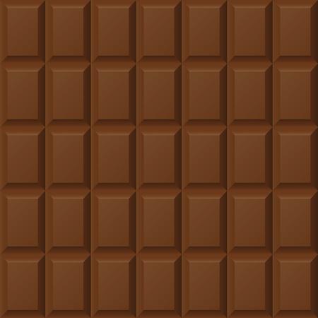 barra de chocolate: Patr�n de barras de chocolate sin fisuras Vectores