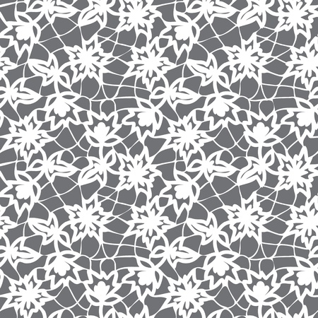 floral seamless lace pattern Stock Vector - 17746323