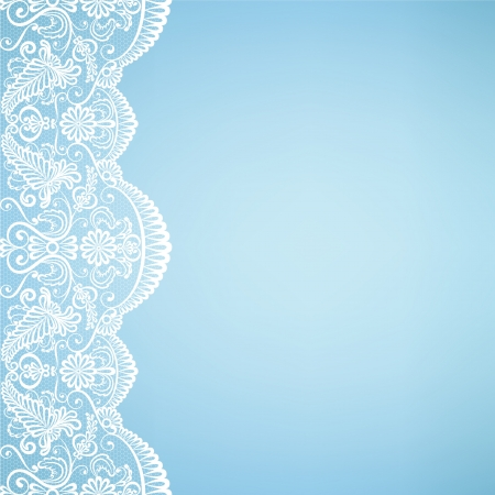 lace background: Template for wedding, invitation or greeting card with lace fabric background