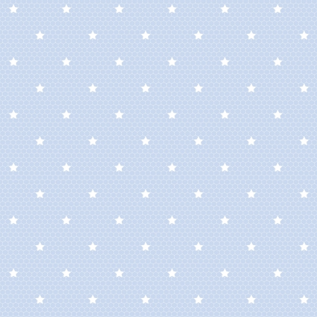 Seamless net pattern with stars Vector