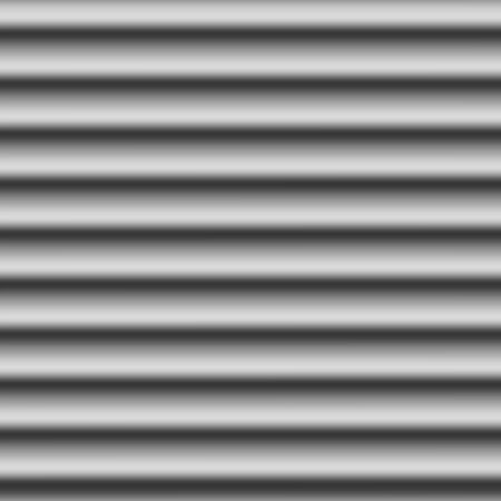 rippled: Seamless corrugated metal background Illustration