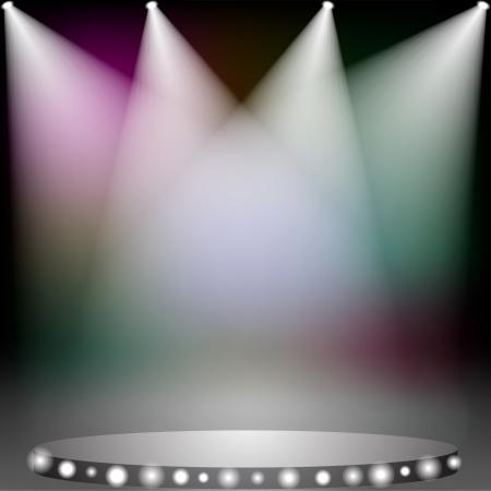 할로겐: 무대에서 화려한 스포트라이트