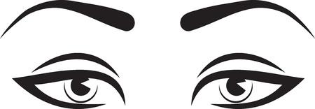 eyesight: Beautiful woman eyes